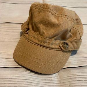 baby Gap Brown Baby Boy Newsboy Hat
